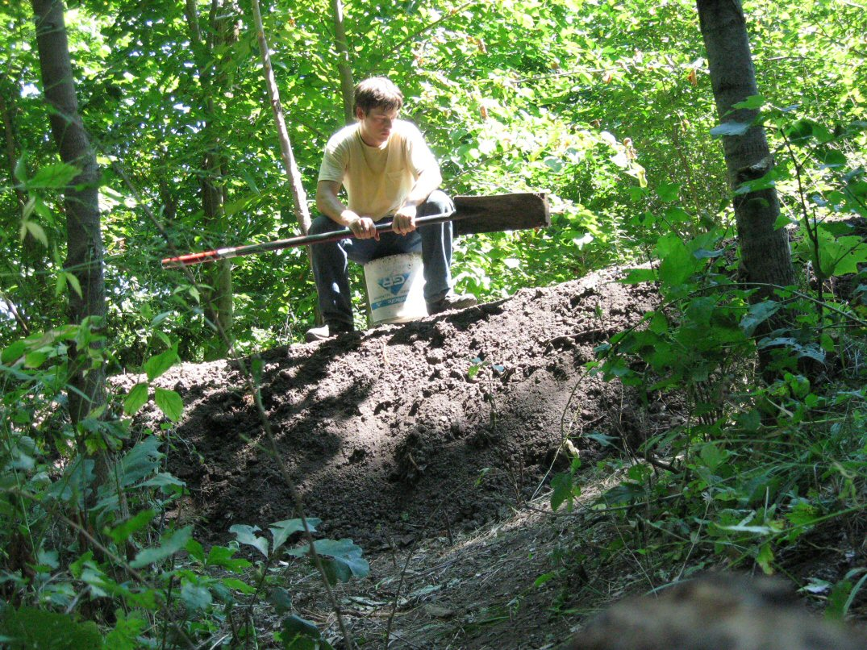 Kleckner oasis digging ponds - Build pond wildlife haven ...